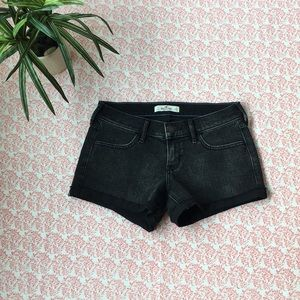 NWOT Hollister Black Short